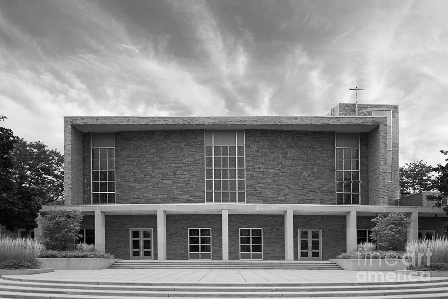Cwu Photograph - Concordia University Christ Triumphant Chapel by University Icons