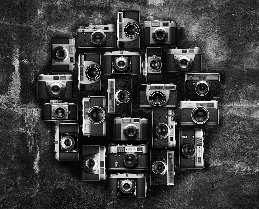 Camera Photograph - Concrete Camera by Tord-Erik Andresen