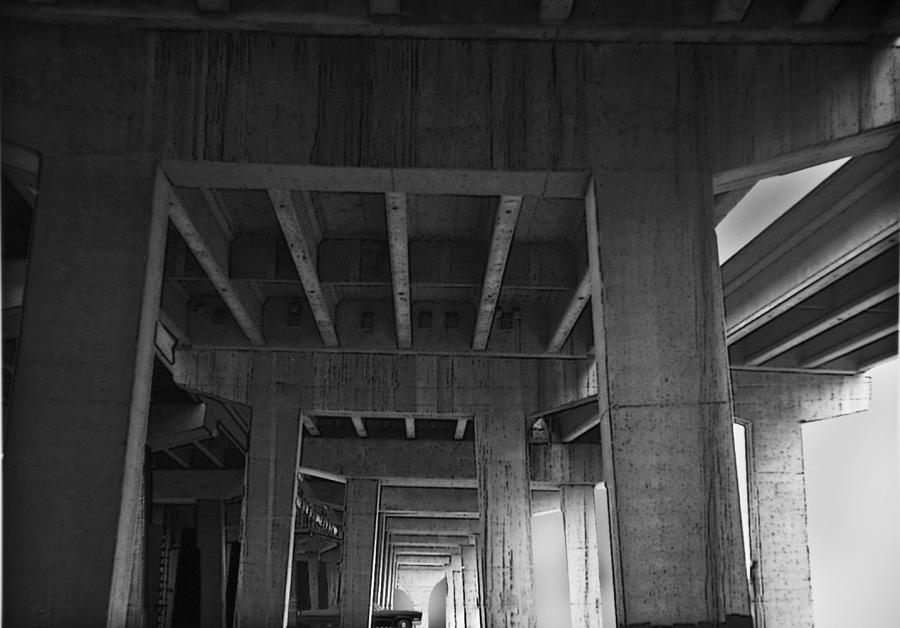 Architecture Photograph - Concrete Cathedral by Larry Butterworth