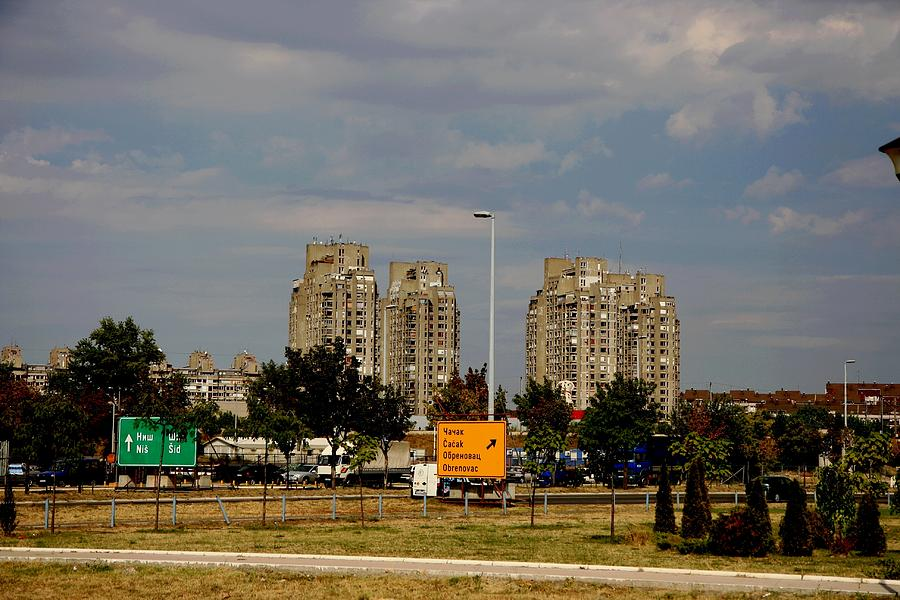 Belgrade Photograph - Concrete Jungle by Frederic Vigne