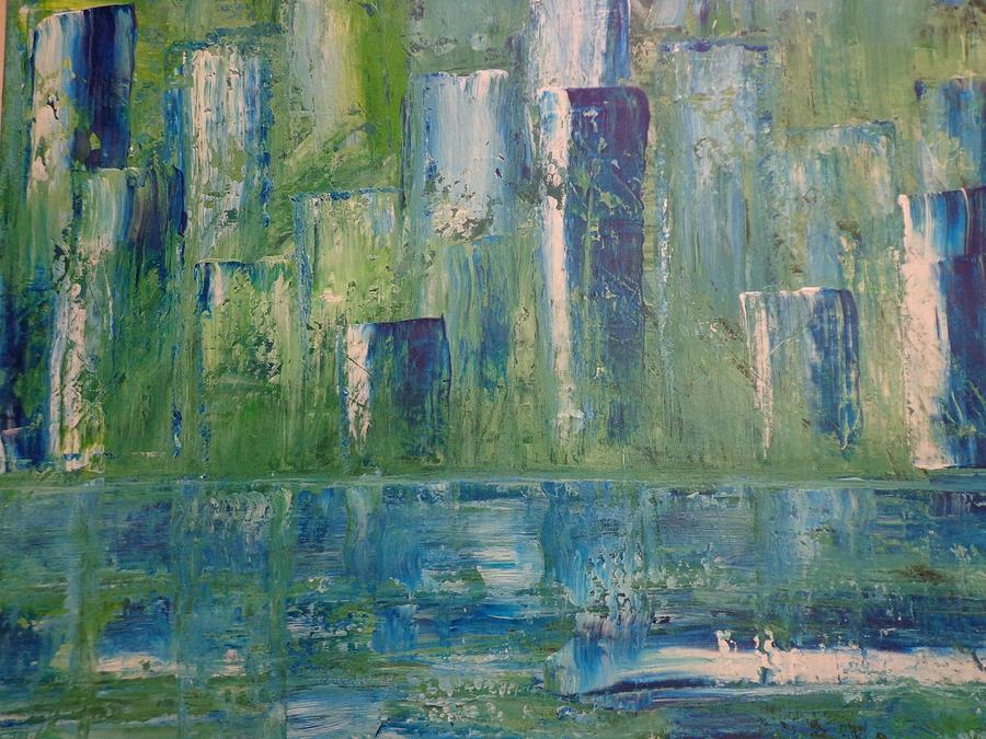 Concrete Jungle Painting