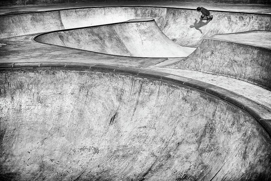 Concrete Photograph - Concrete Slider by Tomer Eliash