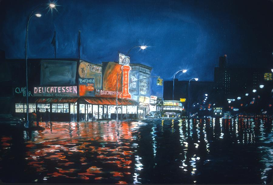 Brooklyn Painting - Coney Island by Anthony Butera
