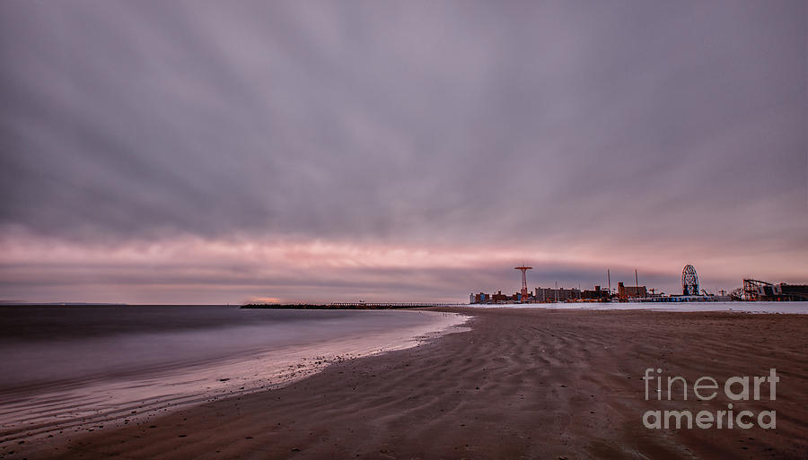 Coney Island Photograph - Coney Island Bound by Evelina Kremsdorf