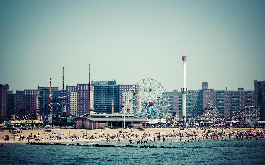Coney Island Photograph - Coney Island Dream by Frank Winters