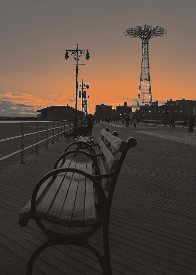 Brooklyn Photograph - Coney Island Evening by Jeff Watts