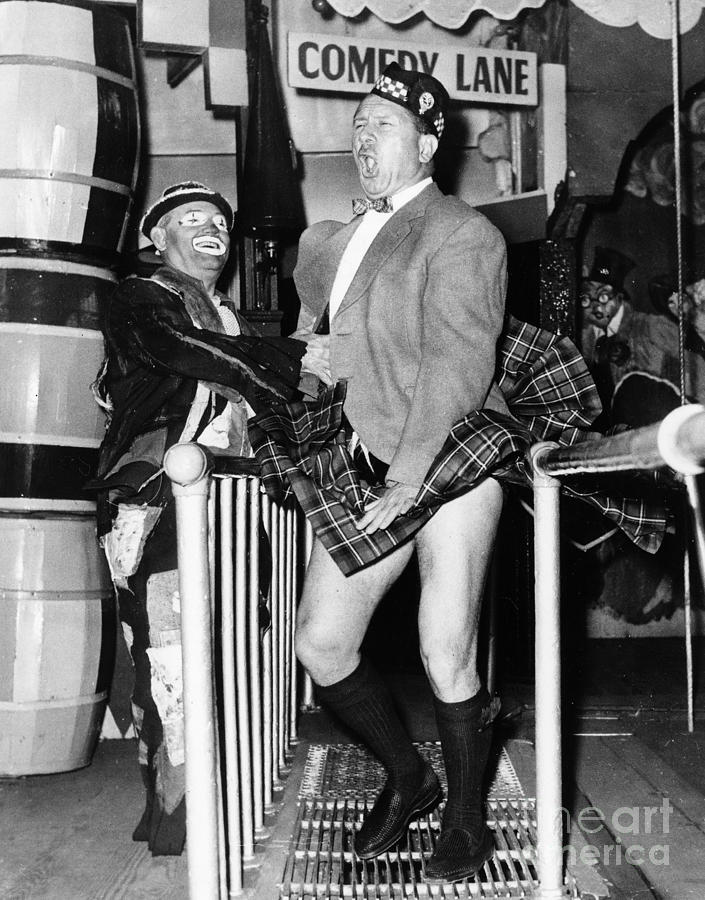 1960 Photograph - Coney Island Fun House by Granger