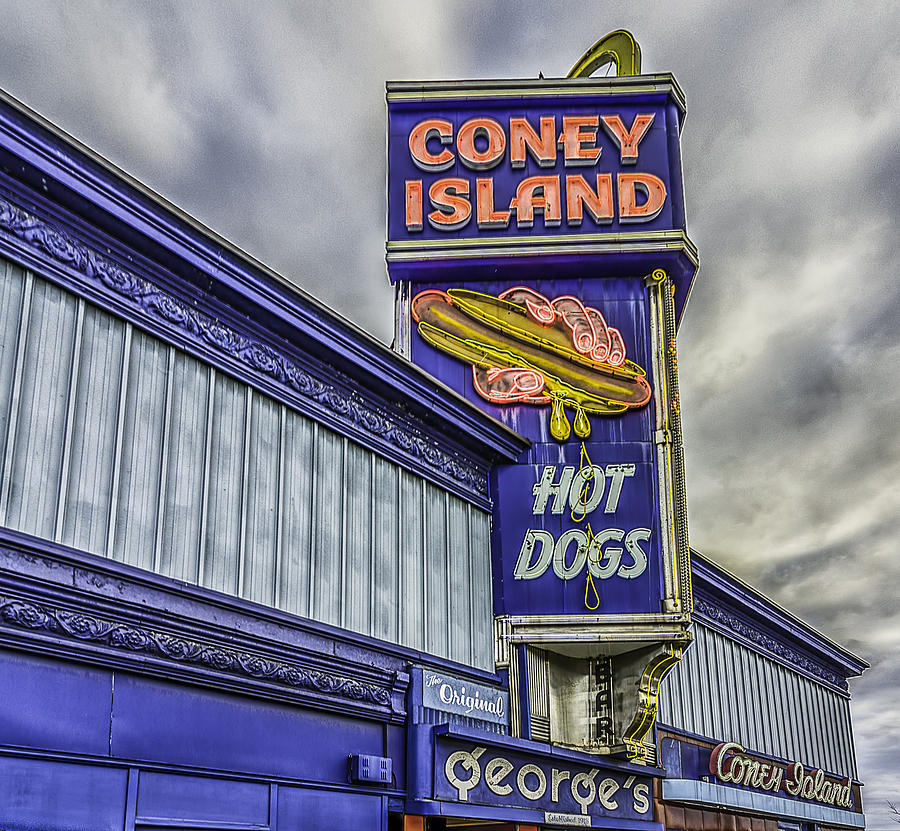 Coney Island Photograph - Coney Island Worcester by Bob Bernier