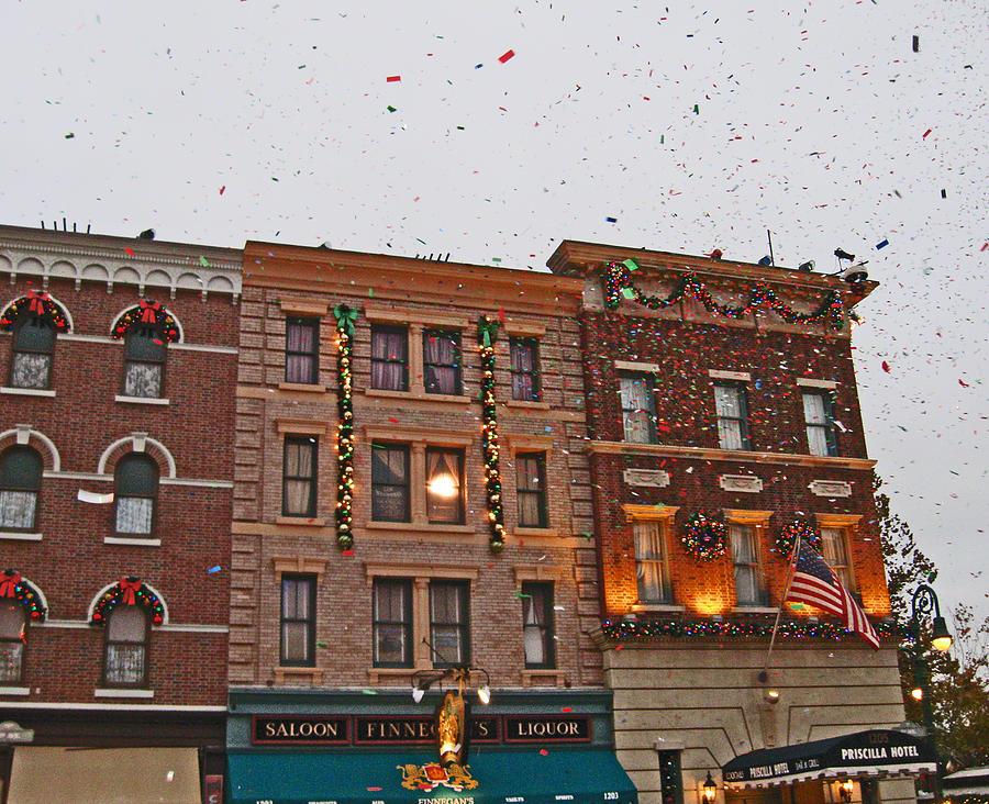 Confetti Photograph - Confetti Cascade by Seth Shotwell