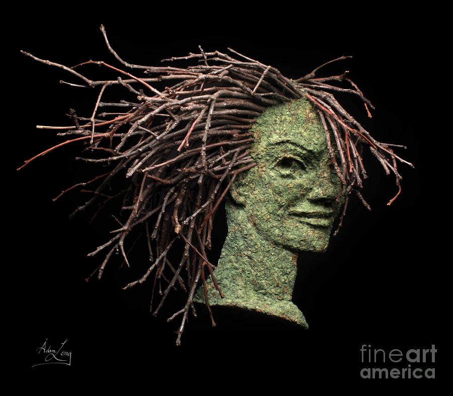 Sculpture Relief - Confidence by Adam Long