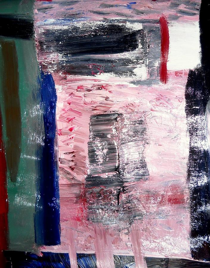 Abstract Expressionism Painting - Confusion by Fatiha Boudar