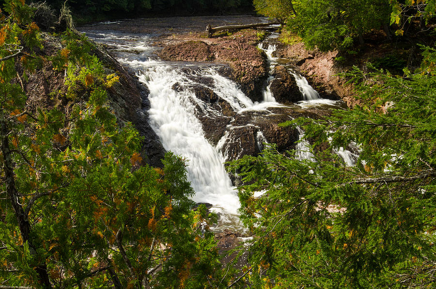 Black River Photograph - Conglomerate Falls by Thomas Pettengill