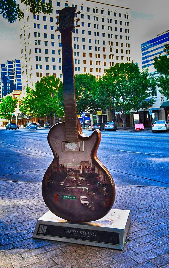 Congress Avenue Sixth String by Kristina Deane