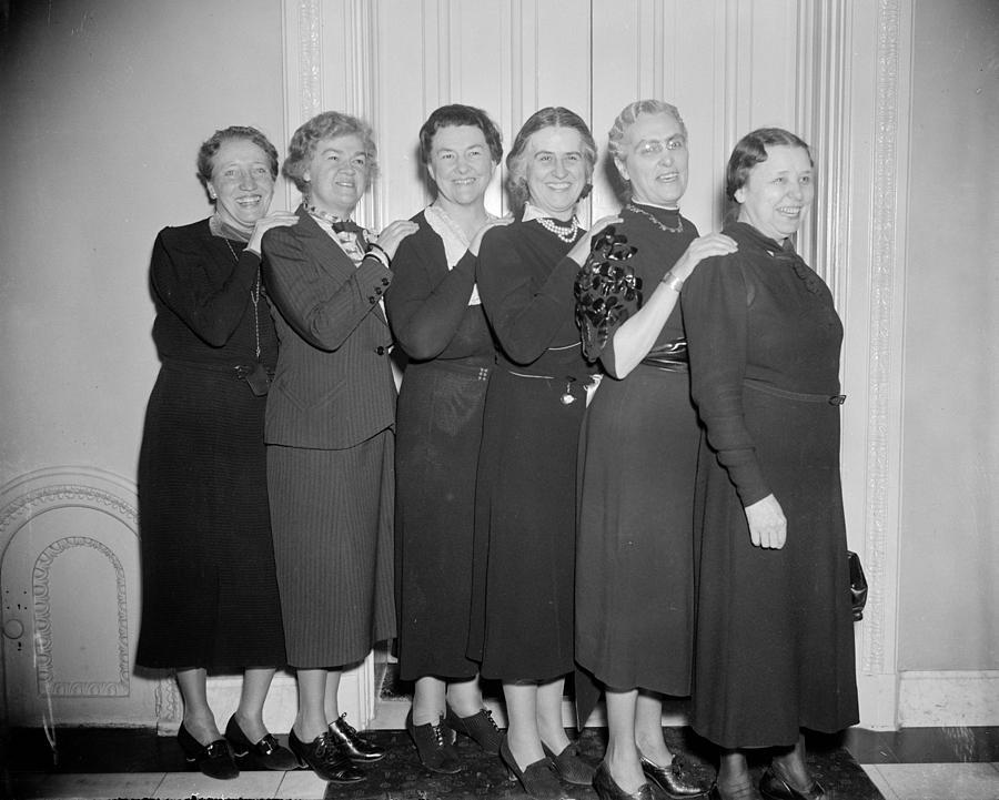 1938 Photograph - Congresswomen, 1938 by Granger