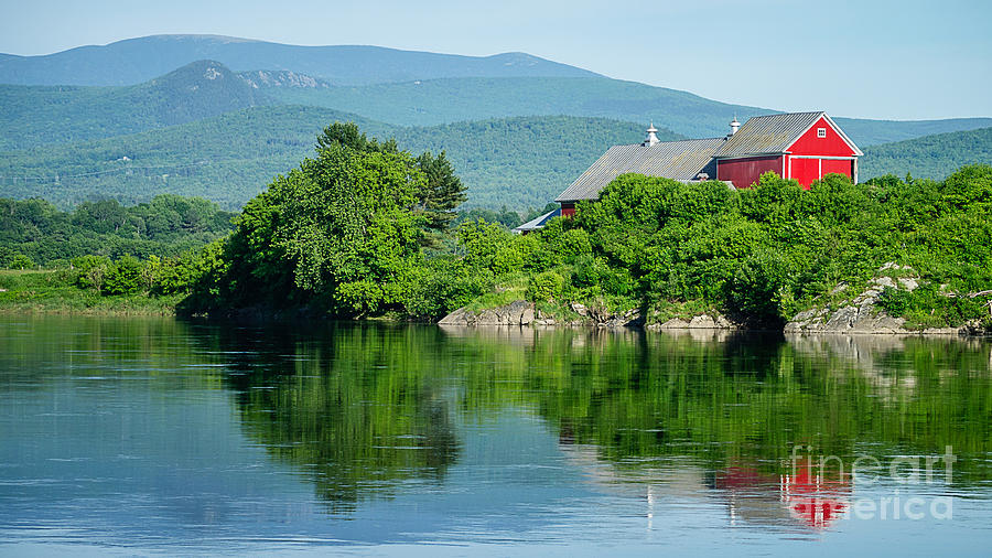 Connecticut River Farm II by Edward Fielding