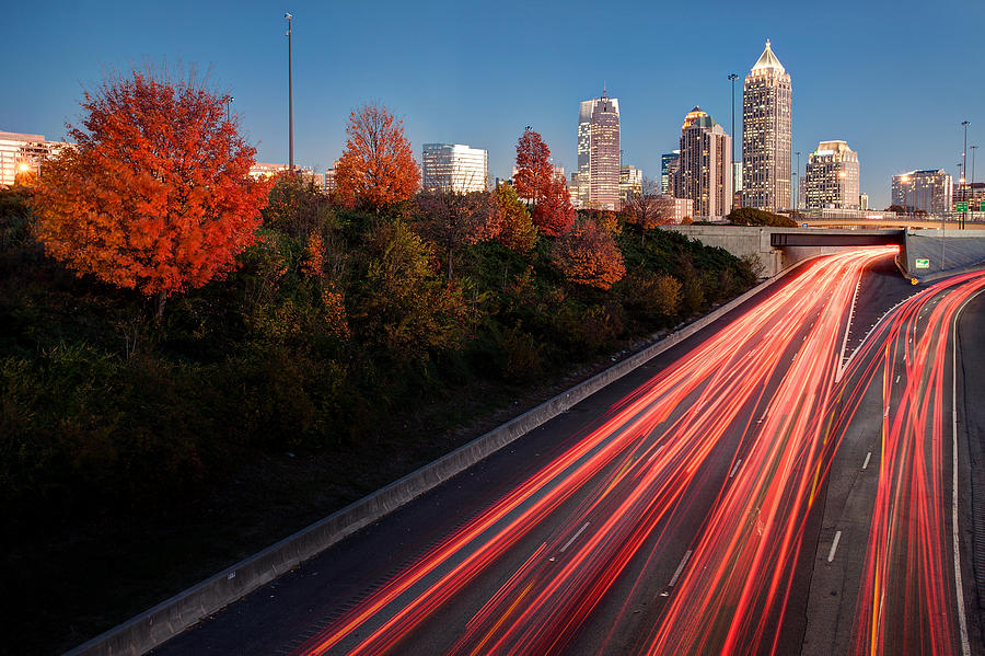 Atlanta Photograph - Connecting City by Scott Moore