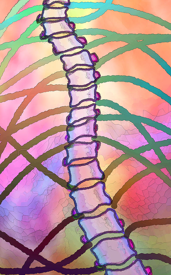 Palm Digital Art - Connections  by Ginny Schmidt