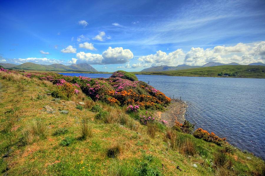 Connemara Photograph - Connemara Landscape by John Quinn