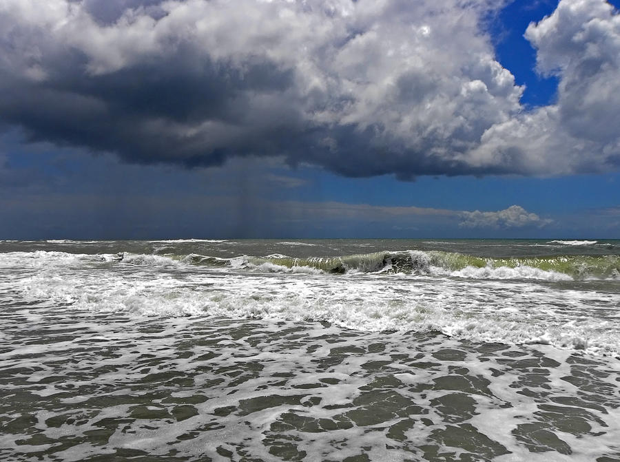 Tropical Storm Beryl Photograph - Conquering The Storm by Sandi OReilly