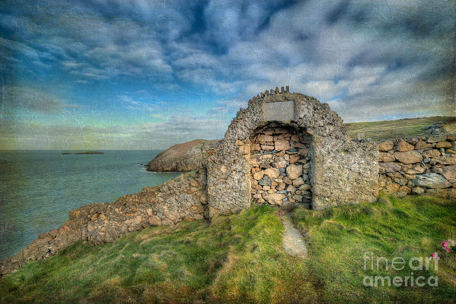 Anglesey Photograph - Consecrated 1535 by Adrian Evans