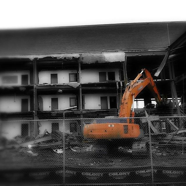 Instagram Photograph - Construction #statecampus #work by Joseph Christopher