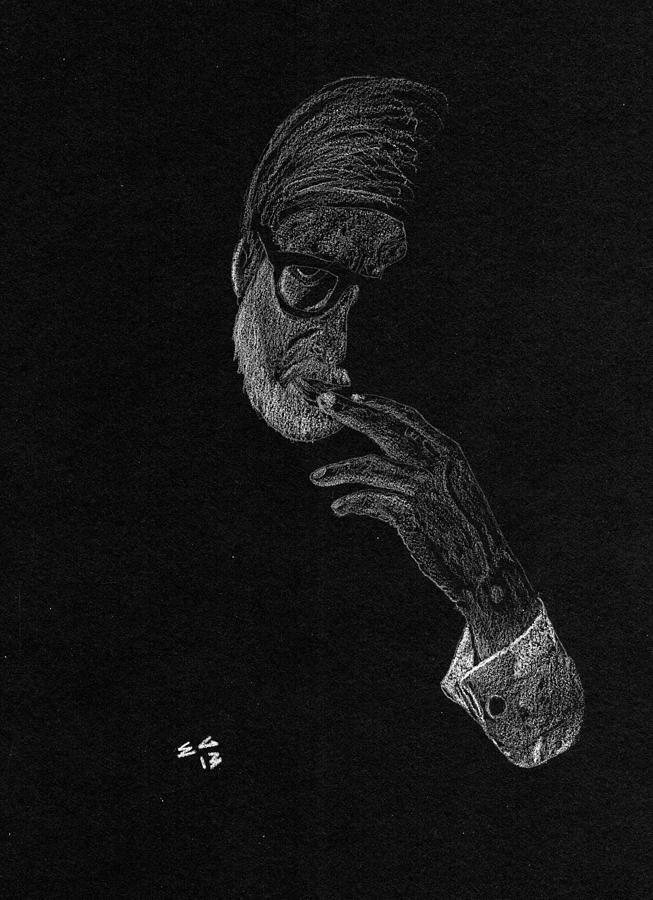Contemplation Drawing by Ekta Gupta