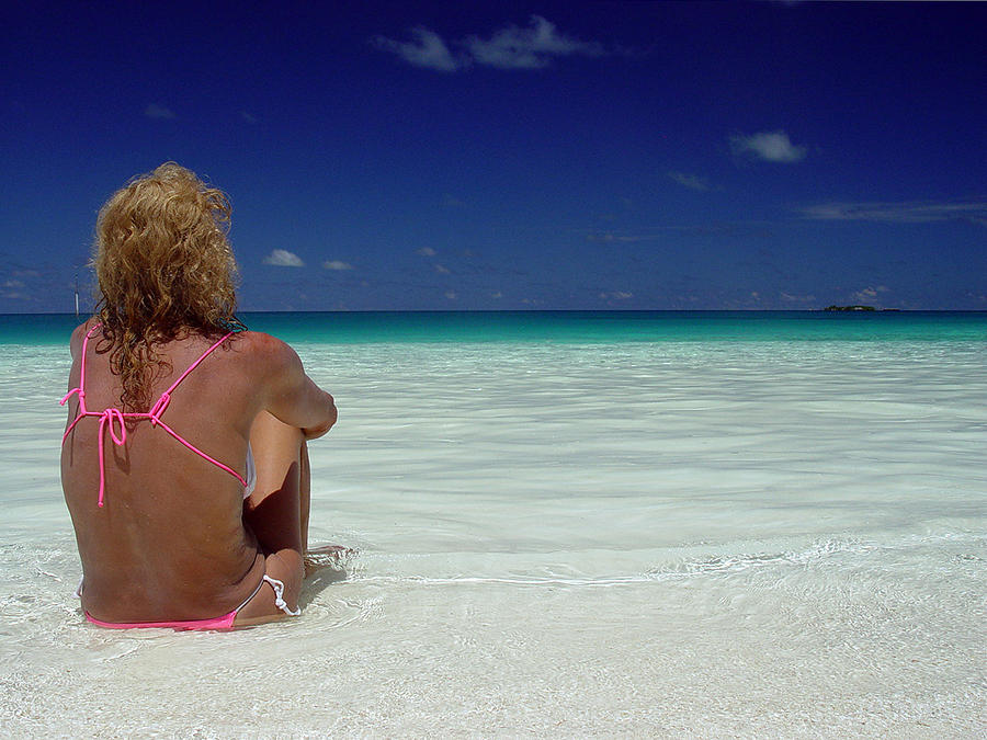 Maldives Photograph - Contemplation by Giorgio Darrigo