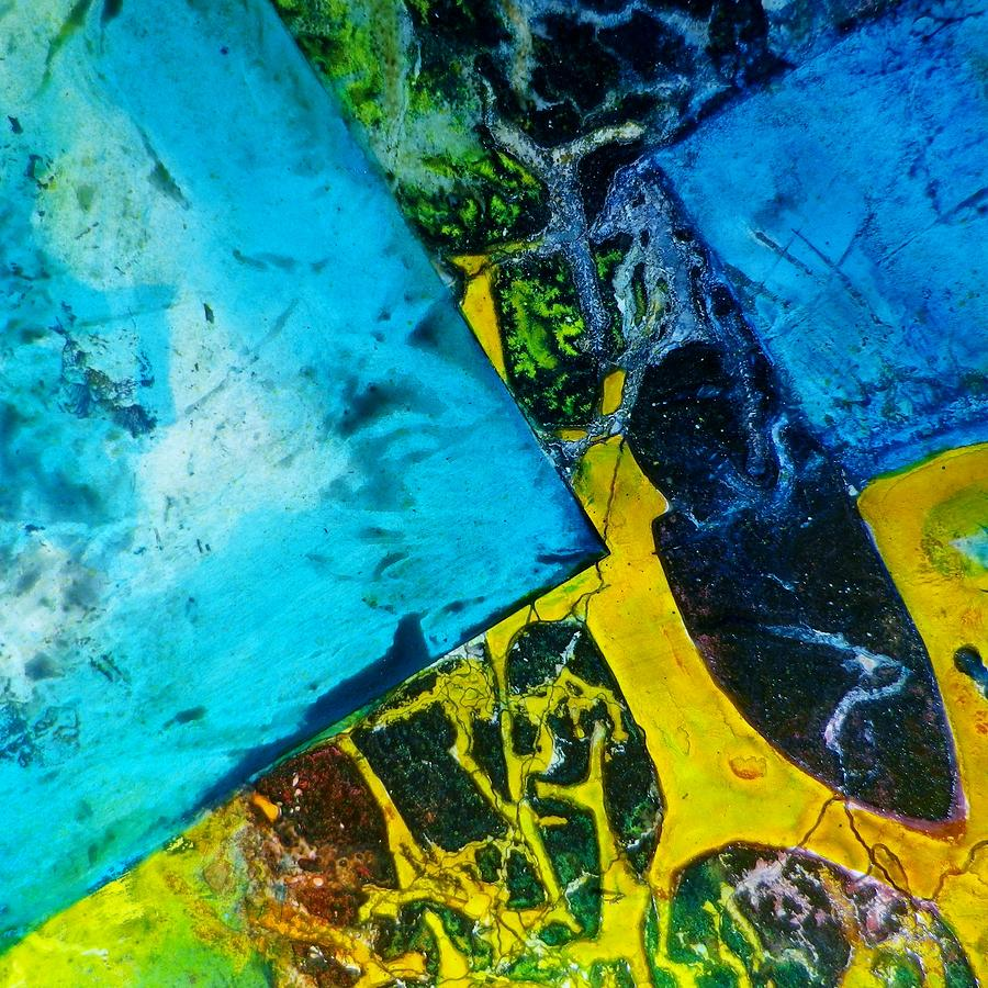 Organic Painting - Contempo Seven by David Raderstorf