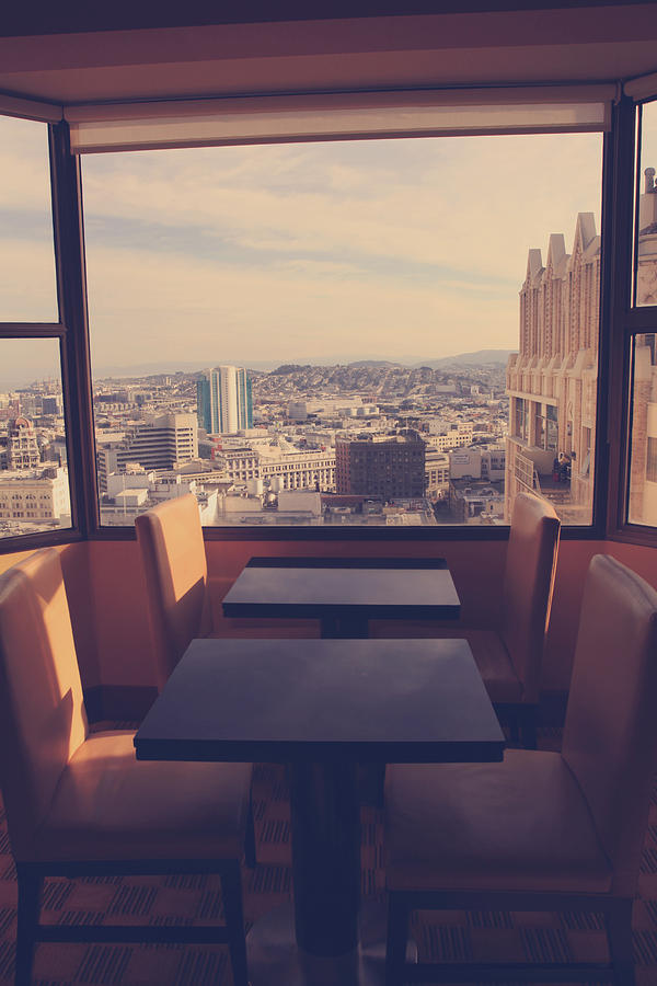 San Francisco Photograph - Continental Breakfast by Laurie Search
