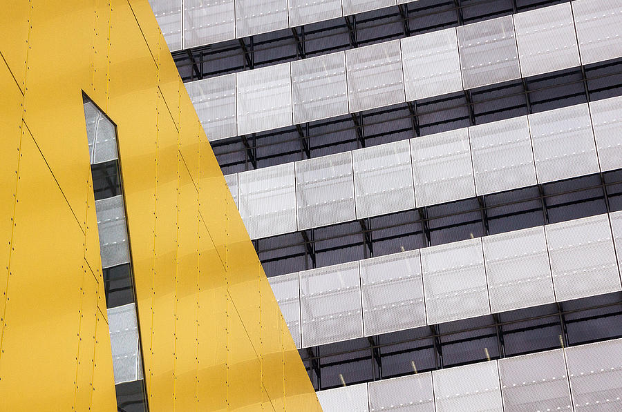 Architecture Photograph - Continuation by Jacqueline Hammer