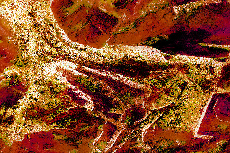 Abstract Photograph - Contours 080 Abstract by Natalie Kinnear