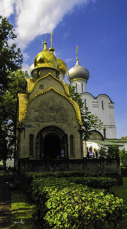 Convent Photograph - Convent - Moscow - Russia by Madeline Ellis
