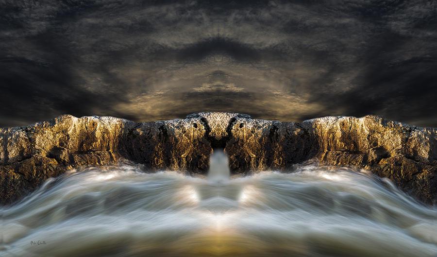Ocean Photograph - Convergence  by Bob Orsillo