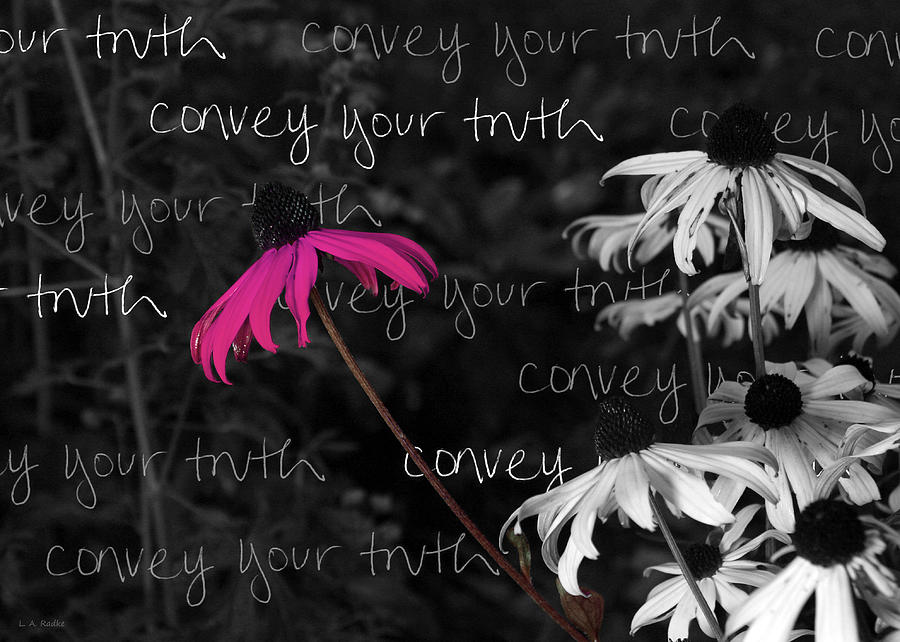 Convey Your Truth by Lauren Radke