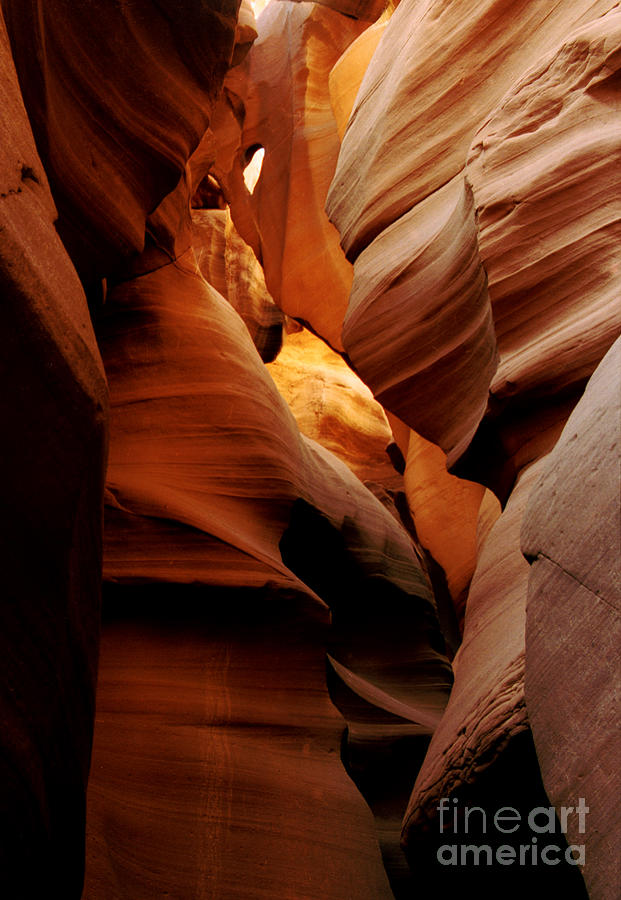 Antelope Canyon Photograph - Convolusions by Kathy McClure