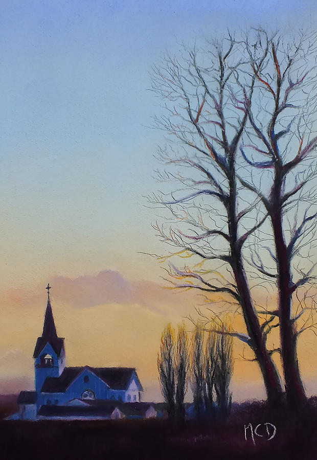 Conway Wa Pastel - Conway Evening by Marie-Claire Dole