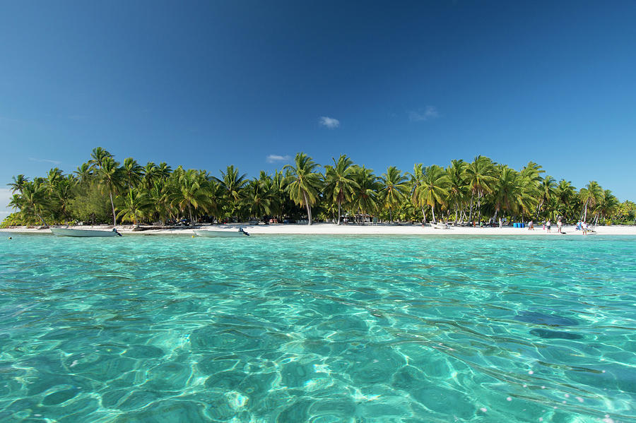 Atoll Photograph - Cook Islands Palmerston Island by Cindy Miller Hopkins