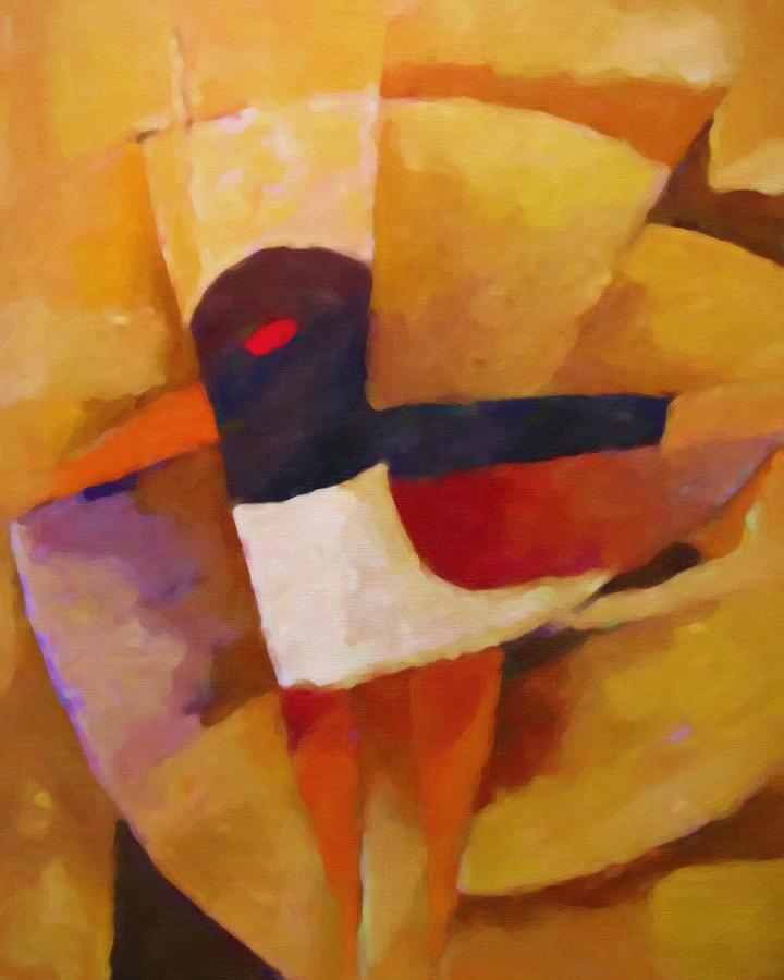 Cool Bird Painting - Cool Bird by Lutz Baar