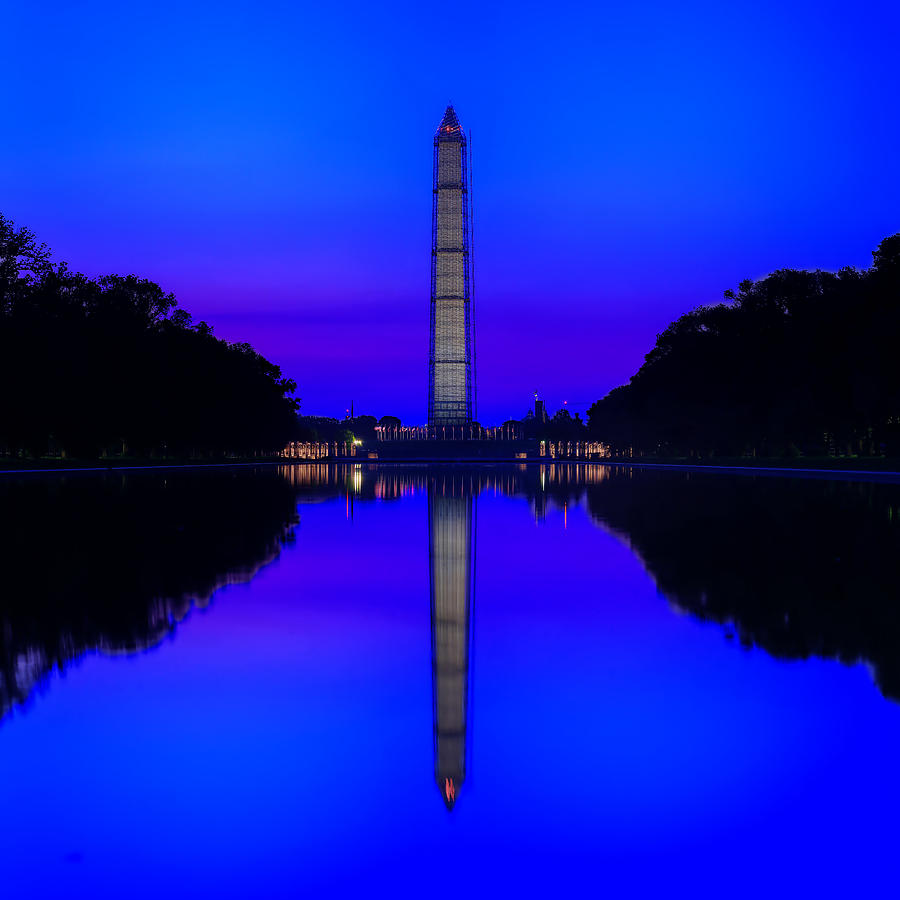 Cool Blue Morning by Metro DC Photography