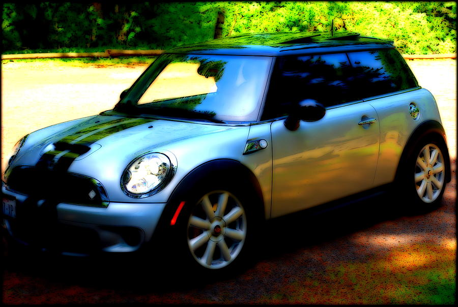 Mini Photograph - Cool Cooper Sport by Kathy Sampson