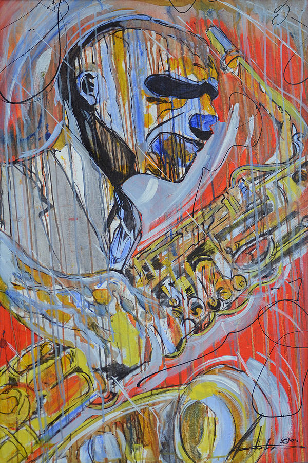 Cool Painting - Cool Heat by Hasaan Kirkland