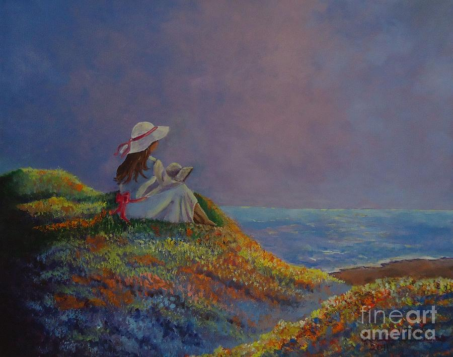 Best Seller Painting - Cool Summer Day by Louise Williams
