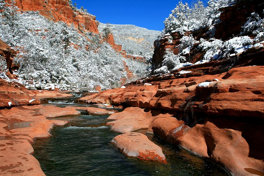 Arizona Photograph - Cool Waters by Miles Stites