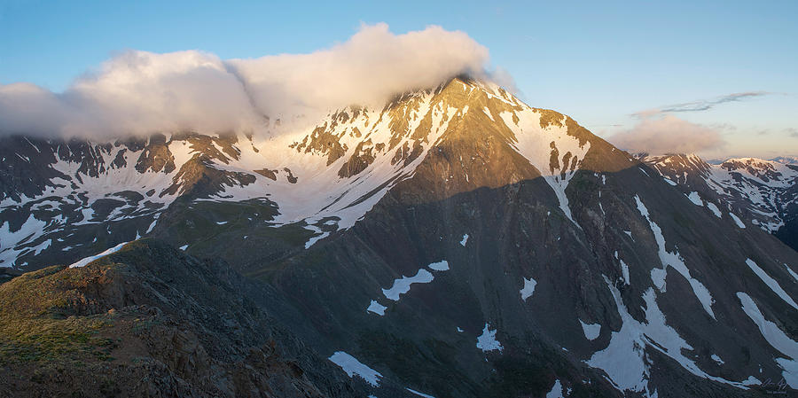 Torreys Photograph - Cool Whip - Mountain Sunrise by Aaron Spong