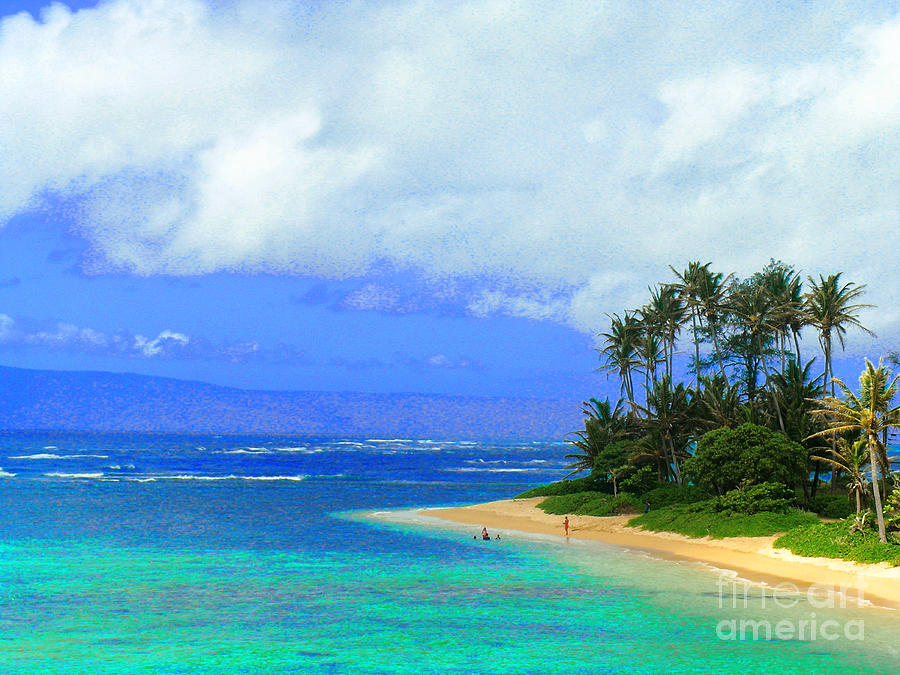 Iphone Cases Photograph - Cooling Off Hawaiian Style by James Temple