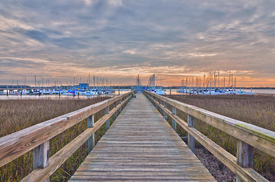 Cooper River Marina Photograph by Donnie Smith