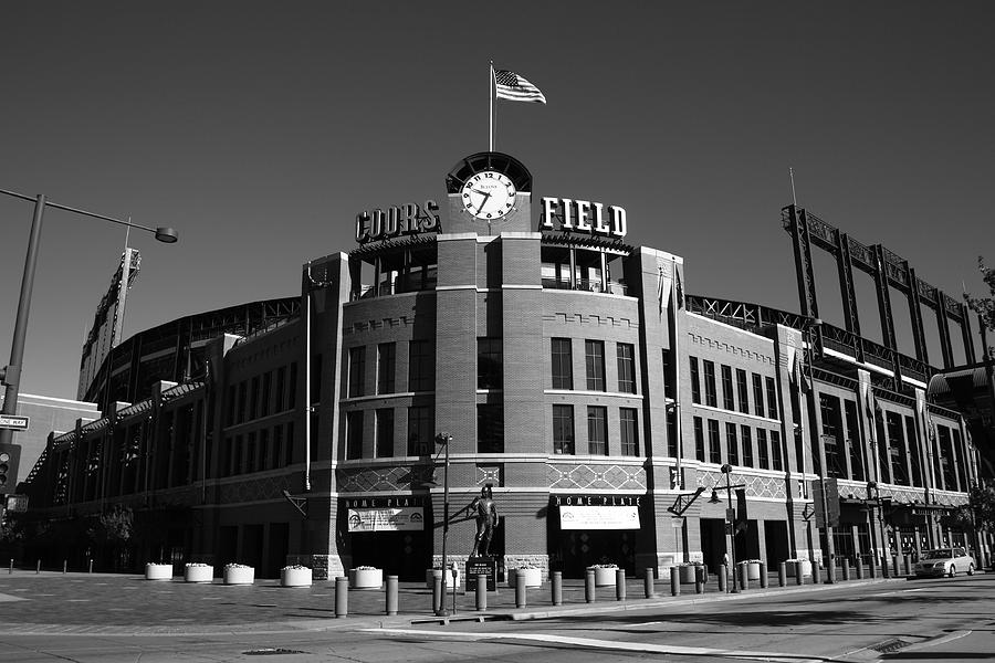 Coors Field - Colorado Rockies 14 by Frank Romeo