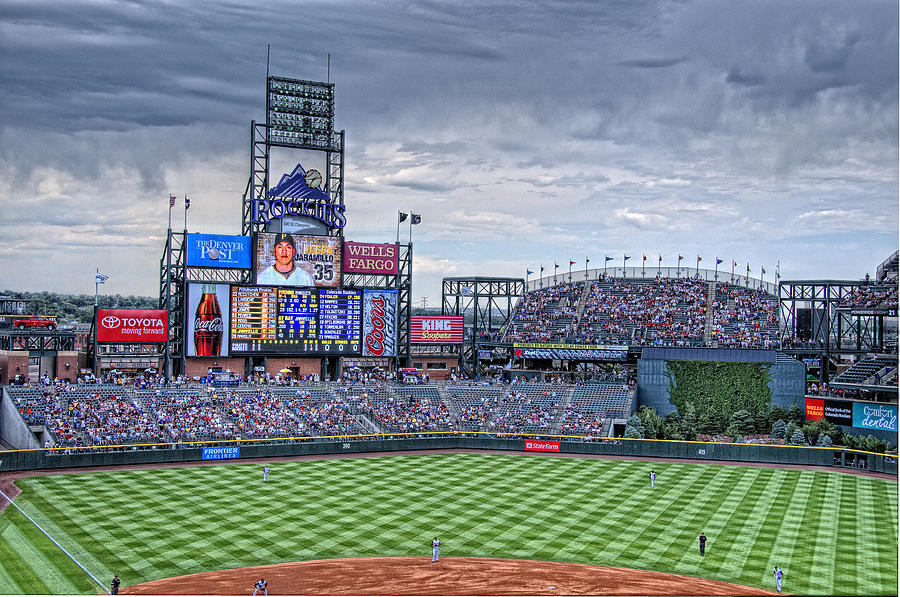 Coors Field Photograph - Coors Field by Ron White