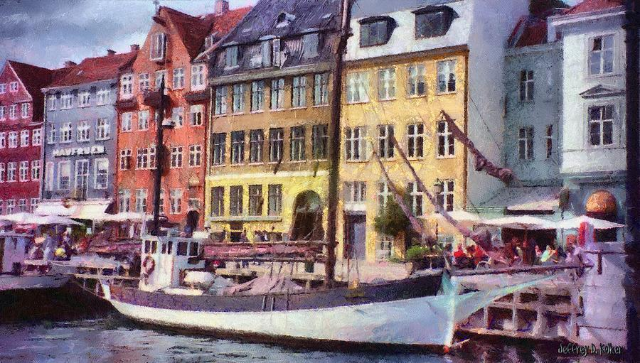 Scandinavia Painting - Copenhagen by Jeffrey Kolker