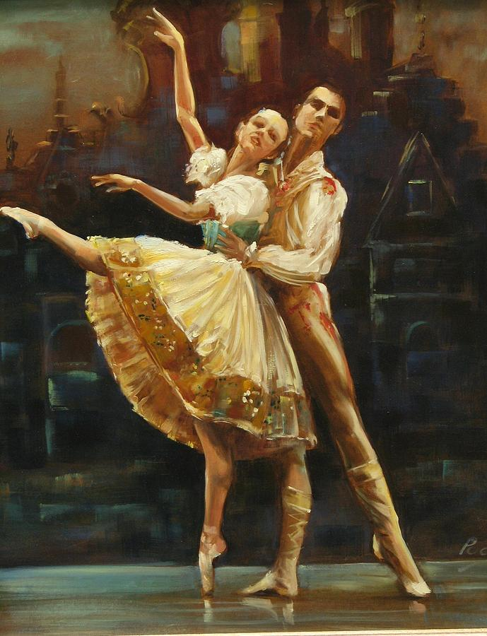 Dancers Painting - Coppelia by Podi Lawrence